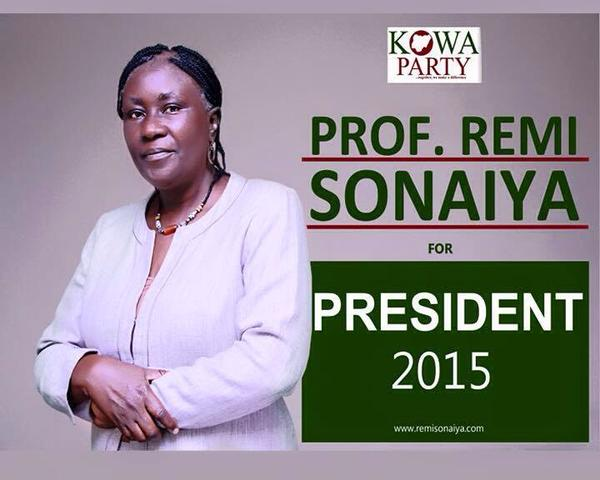 Photo of More African Women Should Join Politics – Prof. Remi Sonaiya, former Nigerian presidential candidate